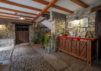 Patio interior Casa Vallés