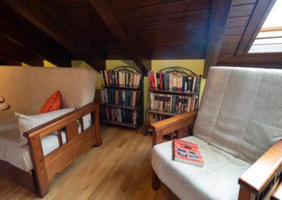 Sala de lectura Casa Vallés